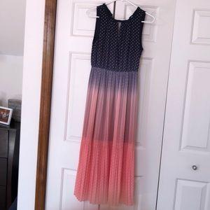 Maison Jules Ombré Polka Dot dress